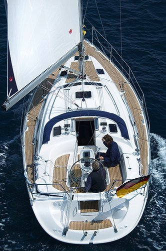 Discover Ionian Islands surroundings on this Bavaria 39 Cruiser Bavaria Yachtbau boat