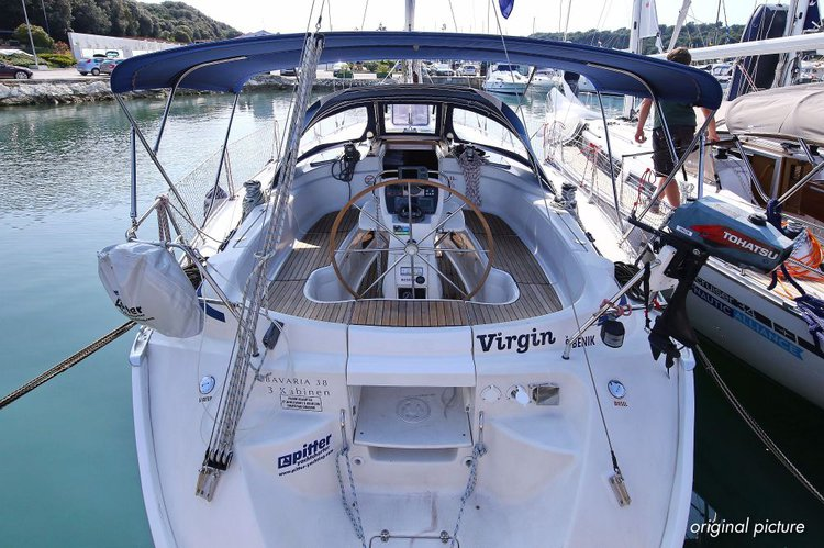 Charter this amazing Bavaria Yachtbau Bavaria 38 in Istra