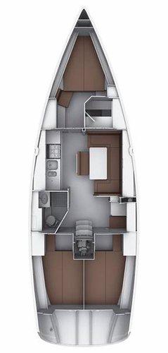 Bavaria Yachtbau's 39.0 feet in Saronic Gulf