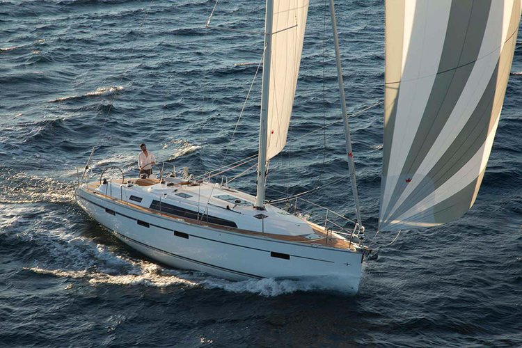 Discover Ionian Islands surroundings on this Bavaria Cruiser 41 Bavaria Yachtbau boat