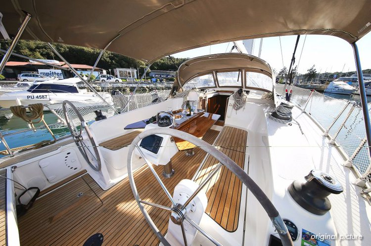 Discover Istra surroundings on this Bavaria Cruiser 41 Bavaria Yachtbau boat