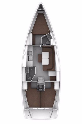 This 40.0' Bavaria Yachtbau cand take up to 7 passengers around Istra