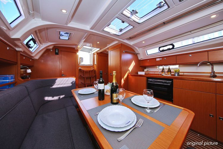 Discover Split region surroundings on this Bavaria Cruiser 41 Bavaria Yachtbau boat