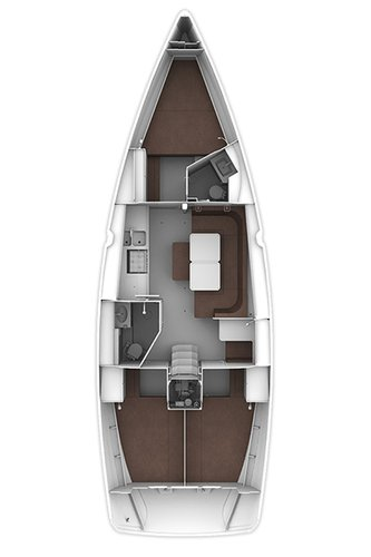 Boat for rent Bavaria Yachtbau 40.0 feet in Marina Dalmacija, Sukosan,