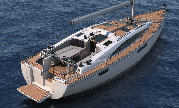 This 41.0' Bavaria Yachtbau cand take up to 6 passengers around Côte d'Azur