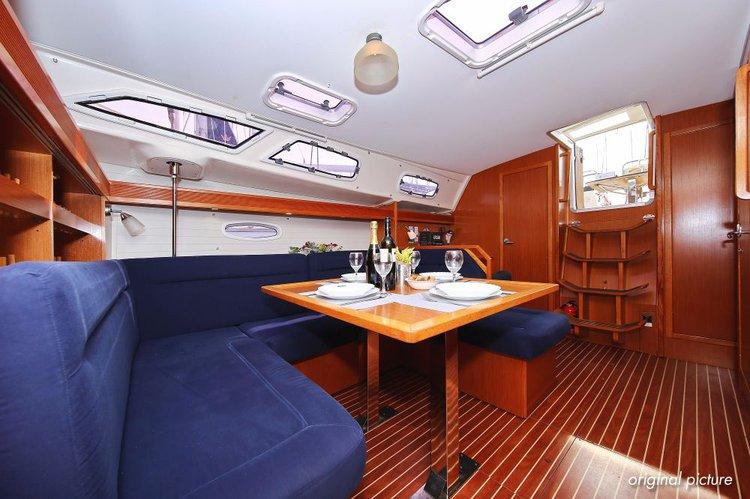 This 42.0' Bavaria Yachtbau cand take up to 7 passengers around