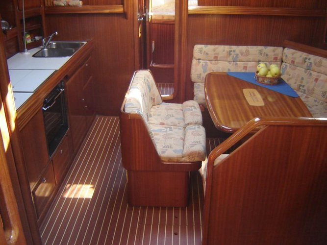 Discover Ionian Islands surroundings on this Bavaria 42 Bavaria Yachtbau boat