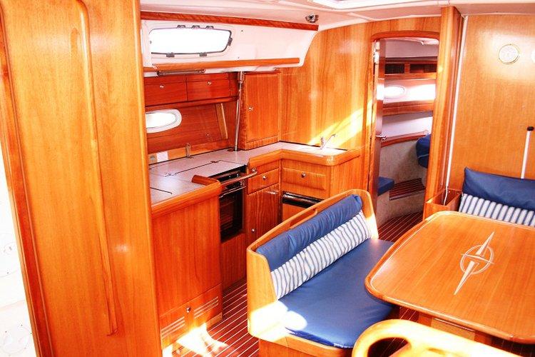 Discover Split region surroundings on this Bavaria 42 Bavaria Yachtbau boat