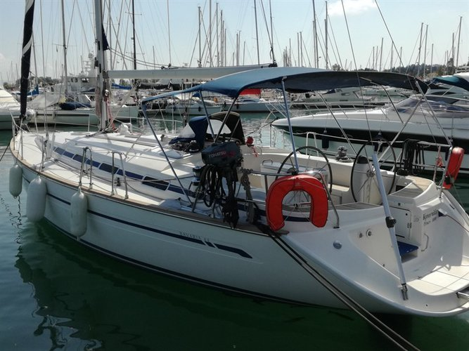 Discover Ionian Islands surroundings on this Bavaria 44 Bavaria Yachtbau boat