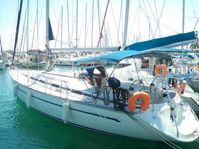 This 45.0' Bavaria Yachtbau cand take up to 9 passengers around Ionian Islands