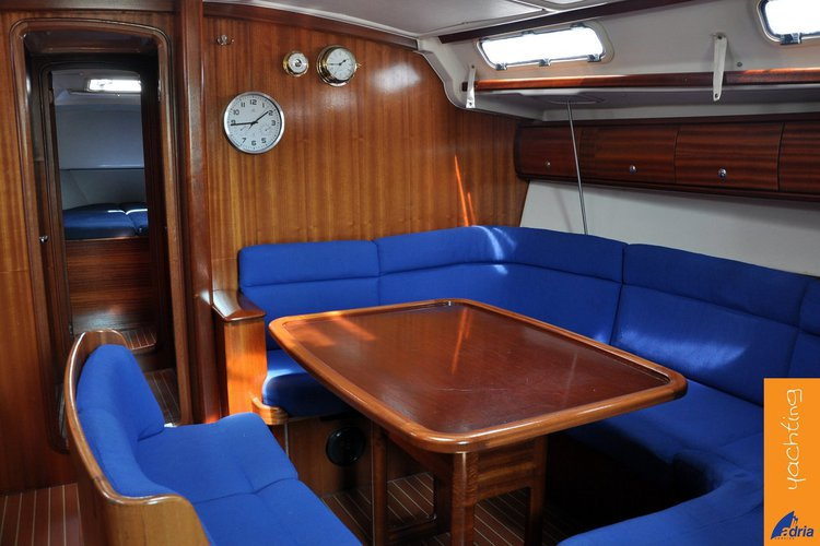 Discover Primorska  surroundings on this Bavaria 44 Bavaria Yachtbau boat