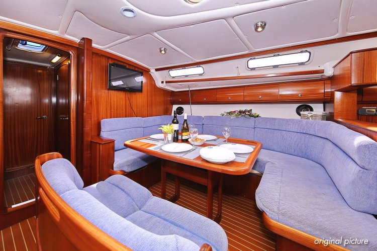 Discover Split region surroundings on this Bavaria 44 Bavaria Yachtbau boat