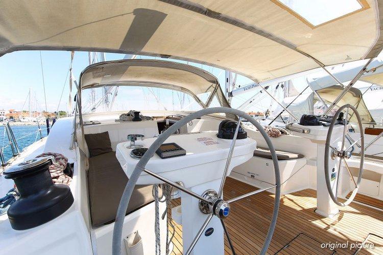This 45.0' Bavaria Yachtbau cand take up to 7 passengers around Zadar region