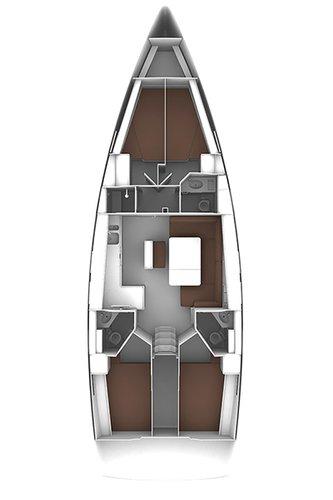 Discover Dodecanese surroundings on this Bavaria Cruiser 46 Bavaria Yachtbau boat