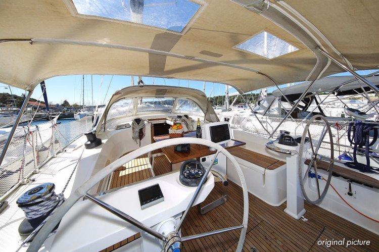 Discover Istra surroundings on this Bavaria Cruiser 45 Bavaria Yachtbau boat