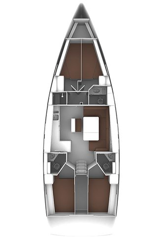 This 46.0' Bavaria Yachtbau cand take up to 9 passengers around Split region