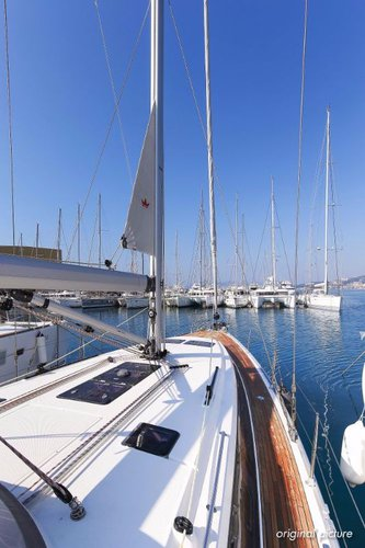 This 46.0' Bavaria Yachtbau cand take up to 7 passengers around Split region
