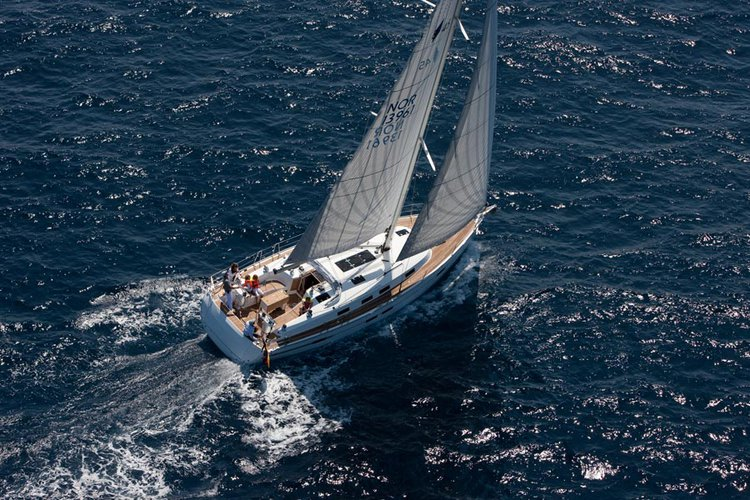 Discover Split region surroundings on this Bavaria Cruiser 45 Bavaria Yachtbau boat