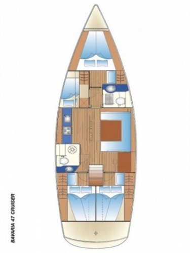 Boat for rent Bavaria Yachtbau 47.0 feet in Cyclades, Greece