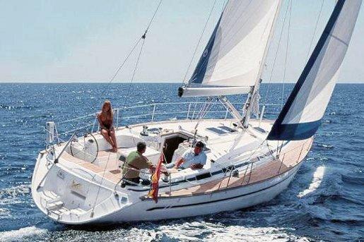 Discover Saronic Gulf surroundings on this Bavaria 47 Cruiser Bavaria Yachtbau boat