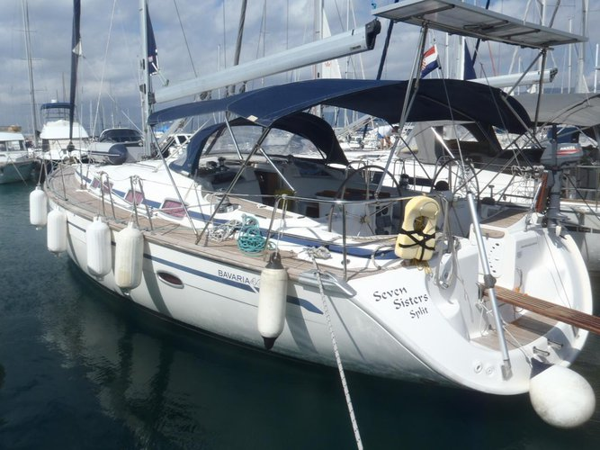 Discover Split region surroundings on this Bavaria 46 Cruiser Bavaria Yachtbau boat