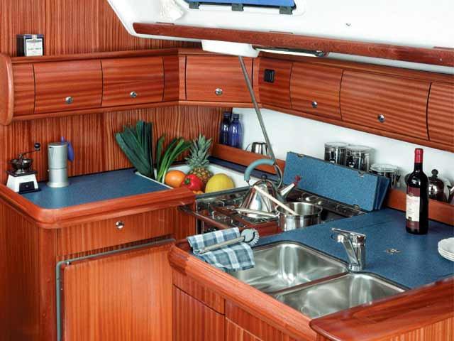 Discover Saronic Gulf surroundings on this Bavaria 49 Bavaria Yachtbau boat
