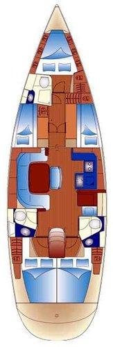 Discover Split region surroundings on this Bavaria 49 Bavaria Yachtbau boat