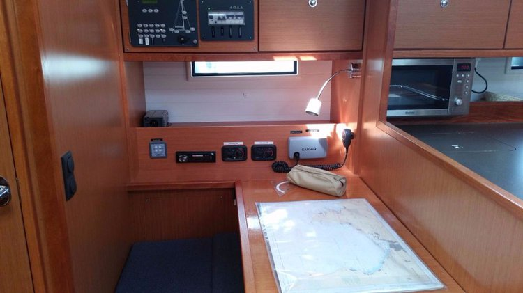 Discover Balearic Islands surroundings on this Bavaria Cruiser 50 Bavaria Yachtbau boat