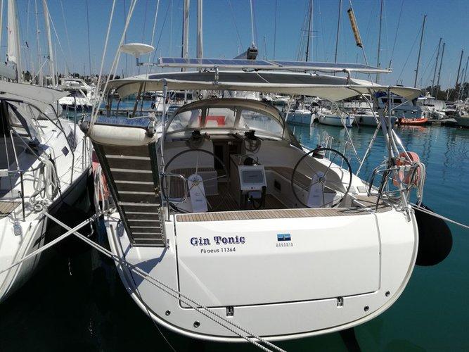 Discover Ionian Islands surroundings on this Bavaria Cruiser 51 Bavaria Yachtbau boat
