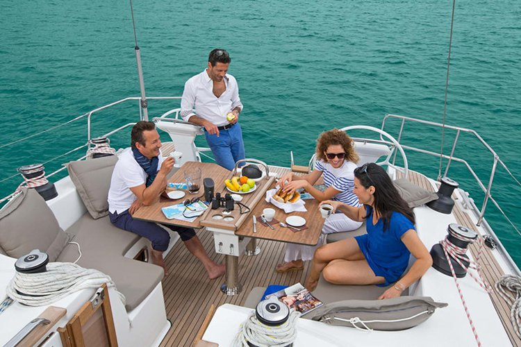 Discover Ionian Islands surroundings on this Bavaria Cruiser 51 Bavaria Yachtbau boat