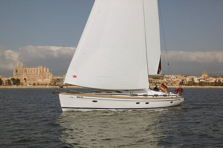 Sail Malta Xlokk waters on a beautiful Bavaria Yachtbau