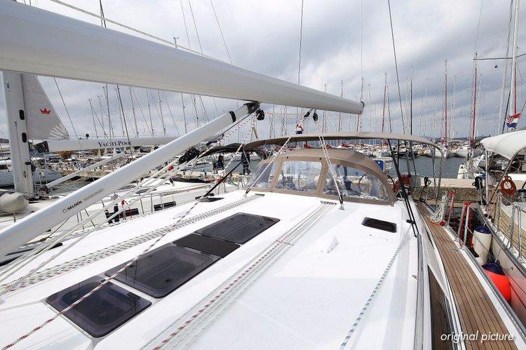 This 51.0' Bavaria Yachtbau cand take up to 9 passengers around Zadar region