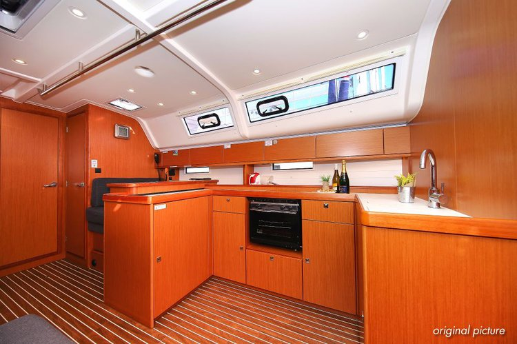 This 49.0' Bavaria Yachtbau cand take up to 11 passengers around Zadar region