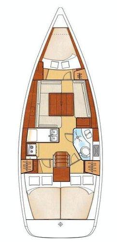 Bénéteau's 35.0 feet in Dodecanese