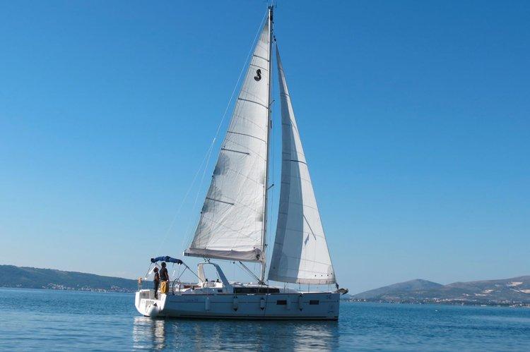 Bénéteau's 37.0 feet in Split region
