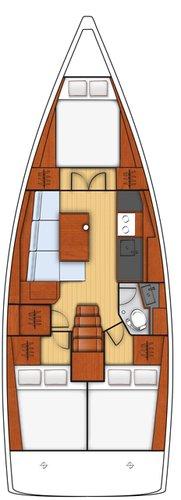 Boat for rent Bénéteau 37.0 feet in Yachtclub Seget (Marina Baotić), Seget Donji,