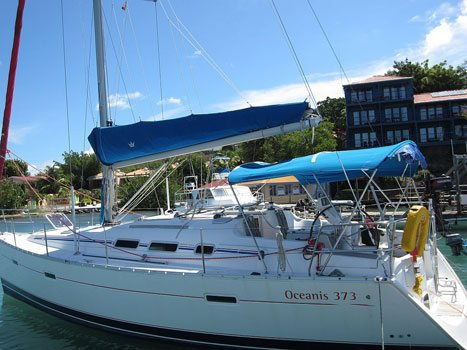 Boating is fun with a Beneteau in True Blue