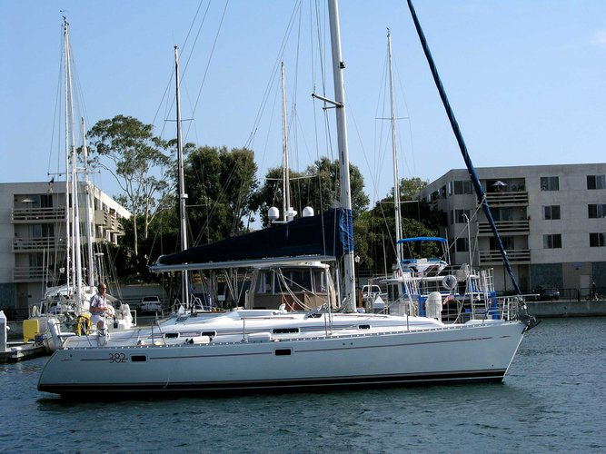 Charter this 38' Beneteau in California - With Captain Only - No Bareboat