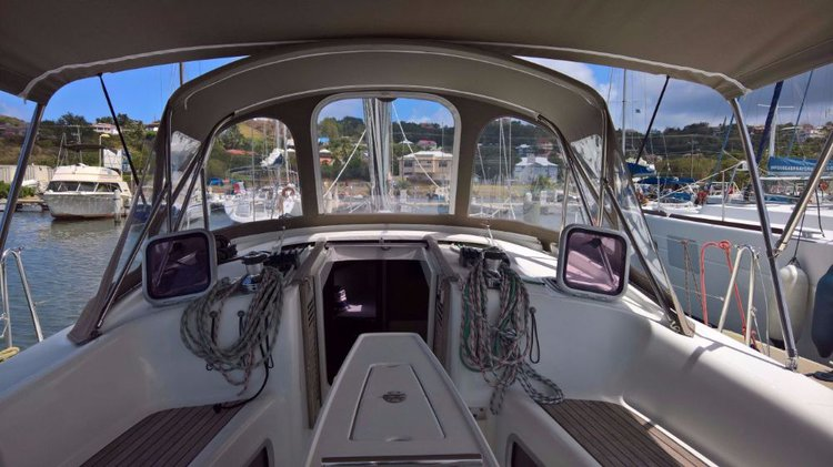 Beneteau boat for rent in St. Lucia