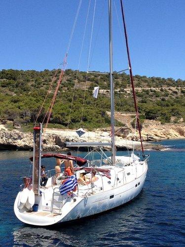 Bénéteau's 41.0 feet in Saronic Gulf