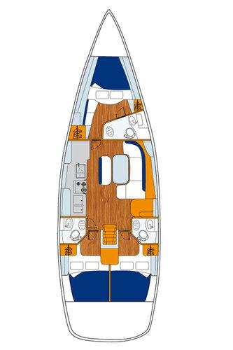 Bénéteau's 46.0 feet in Aegean