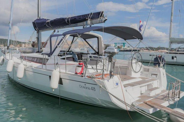 Bénéteau's 46.0 feet in Split region