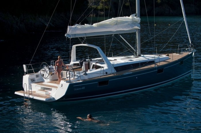 Charter this amazing Bénéteau Oceanis 48 in Saronic Gulf