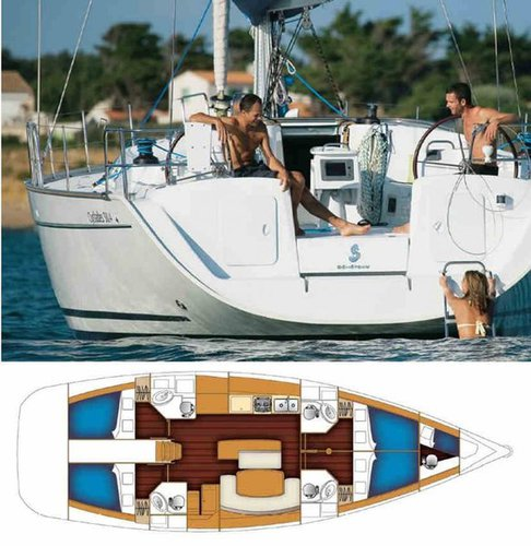 Beneteau boat for rent in Campania