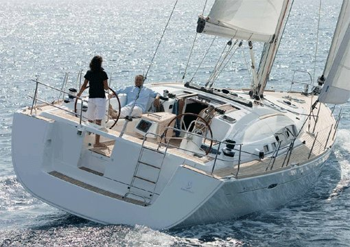 Sail the waters of Ionian Islands on this comfortable Bénéteau