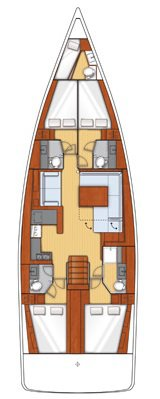 Discover Split region surroundings on this Oceanis 55 Bénéteau boat