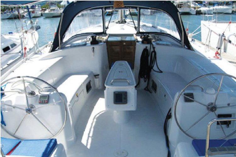 This 43.5' Beneteau Cyclades cand take up to 8 passengers around bodrum