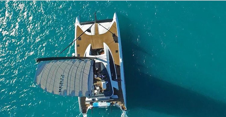 Up to 70 persons can enjoy a ride on this Catamaran boat