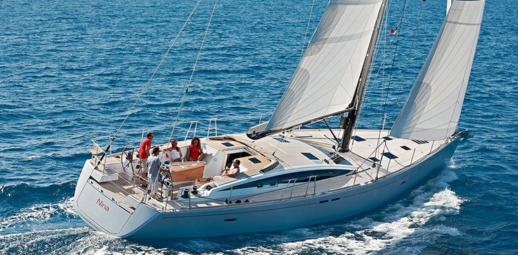 Discover Šibenik region surroundings on this Bordeaux 60 CNB Yachts boat
