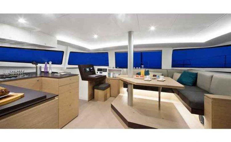 Catamaran boat for rent in Ionian Islands